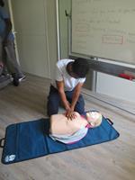 7 salariés formés aux gestes de premiers secours